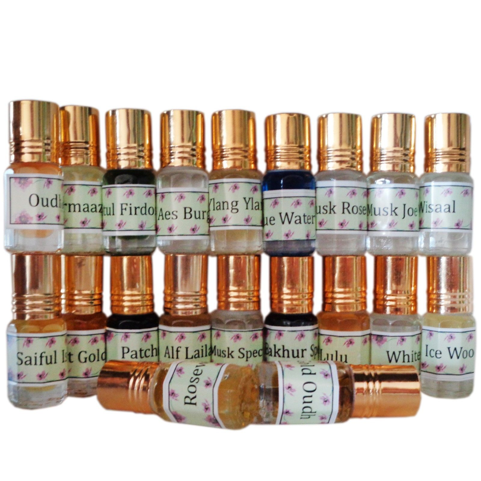 Arabic, Indian Occidental Attar CPO Oil 3 Ml, Alcohol Free, Buy 3 Get 2 Free!! Free Ship