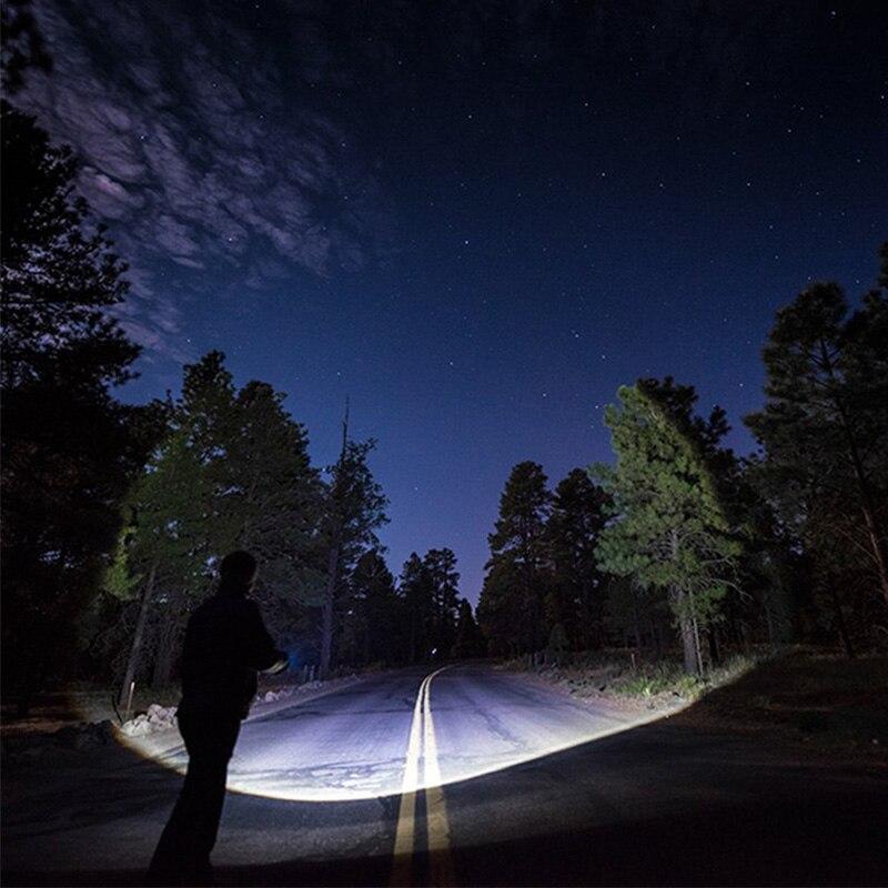 E 8000LM Ισχυρό αδιάβροχο φακό LED Φορητό - Φορητός φωτισμός - Φωτογραφία 6