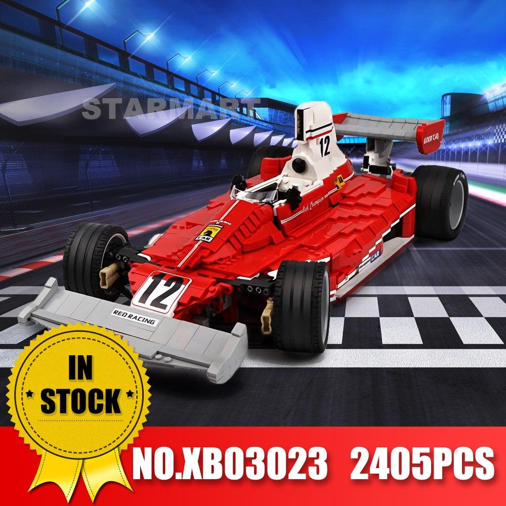 Xingbao 03023 Technic De Rode Power Racing Car Set Bouwstenen Bakstenen Educatief Speelgoed Als Kerst Cadeaus voor Kinderen-in Blokken van Speelgoed & Hobbies op  Groep 1