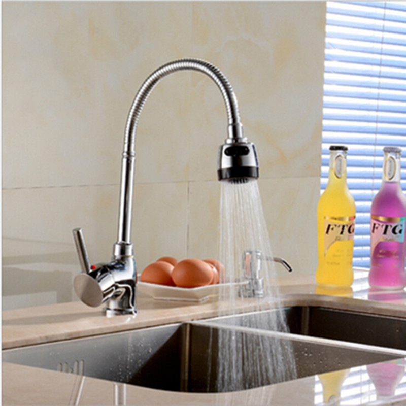 Homedec Homedec Kitchen Basin/Sink Faucet Water Tap Brass Chrome Plated Modern Kitchen Faucets With The Rotation Of The TapHomedec Homedec Kitchen Basin/Sink Faucet Water Tap Brass Chrome Plated Modern Kitchen Faucets With The Rotation Of The Tap