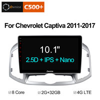 Ownice C500+ G10 Android 8.1 Car Radio DVD Player GPS Navigation For Chevrolet Captiva 2011 2017 Auto 2din headunit multimedia