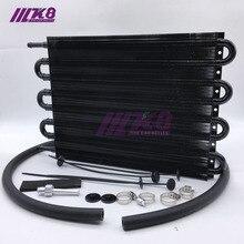 Алюминиевый масляный радиатор с дистанционным управлением/Авто-ручной радиатор конвертер 8 ряд Универсальный