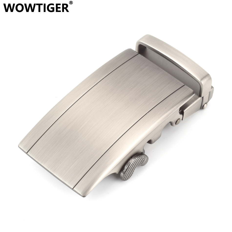 WOWTIGER High Quality Zinc Alloy Automatic Buckle Belt Buckles Suitable 35mm Wide Belts Hebilla Cinturon Boucle Male De Ceinture