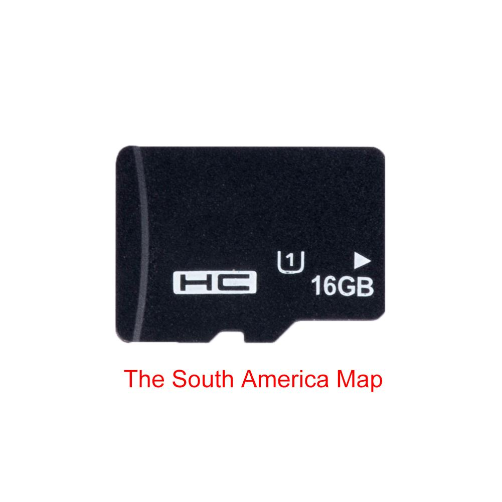 Universal 16G Car Player Car MP5 Map Card Europe Map North America South GPS Maps Navigation Card Wholesale in GPS Accessories from Automobiles Motorcycles