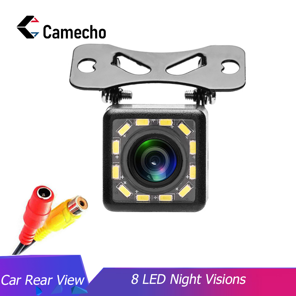 Camecho Auto-Parking-Monitor Car-Rear-View Reversing CCD Night-Vision Video-Backup 170-Degree