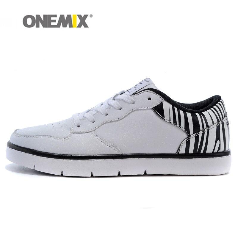 ⓪Onemix Zapatos monopatín Zapatos cuero al aire libre sneakers para ...