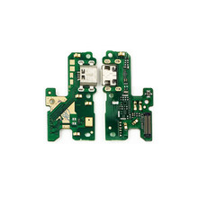 USB Charging Port Dock Plug Jack Connector Charge Board Flex Cable With Microphone For Huawei Honor 8 Lite(China)
