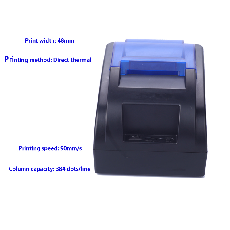 Bluetooth 2.0 usb port thermal printer HS-58HUA