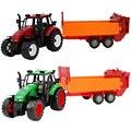 Feliz de la cereza niños construcción dump truck toys regalos para bebé muchachas de los muchachos de tractor de granja modelo cars juguete