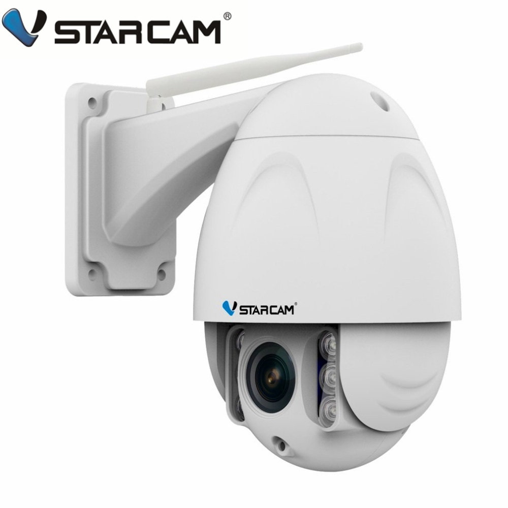 VStarcam Wireless PTZ Dome IP Camera Outdoor 1080P HD 4X Zoom CCTV Security Video Network Surveillance Security IP Camera Wifi lintratek wireless ip bullet security camera 960p 4x optical zoom surveillance wifi cctv camera ip65 waterproof outdoor camara