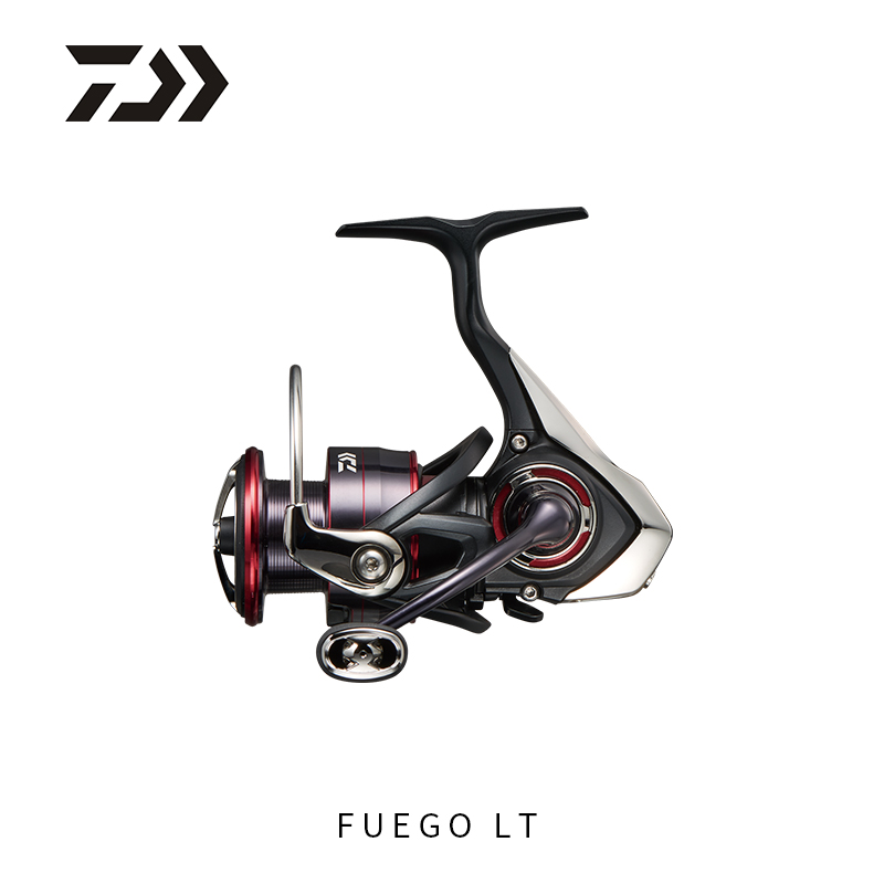 Daiwa 2018 New FUEGO LT Spinning Reel 6+1 Ball Bearings 5.2/5.3/6.2 Gear Ratio 1000-6000 Series Carbon Light Tough Fishing Reel