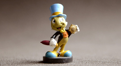 Original Rare Pinocchio Jiminy Cricket PVC Figure Toy With Magnetic Base Children Birthday Gift Collection pinocchio level 4