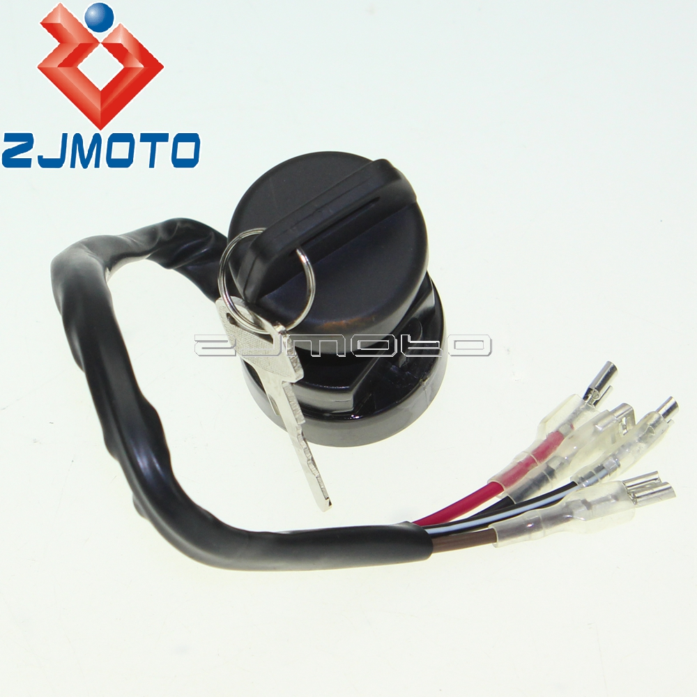 ATV Key Ignition Switch For Polaris Trail Boss 250 1993