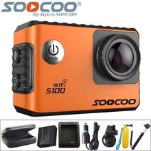SOOCOO S100 D'action Caméra 4 K WiFi Sport DV Full HD 1080 P Gyro 30 m Étanche Plongée Mini Caméscope 2.0 pouce Sport Cam NTK96660