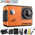 Soocoo s100 câmera ação 4 k wifi sports dv full hd 1080 p giroscópio 30 m Mergulho À Prova D' Água Filmadora Mini 2.0 polegada Esporte Cam NTK96660