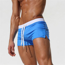 Swimwear Men Shorts Surf Summer Sungas Boxer Boy Mayo Banadores Maillot-De-Bain