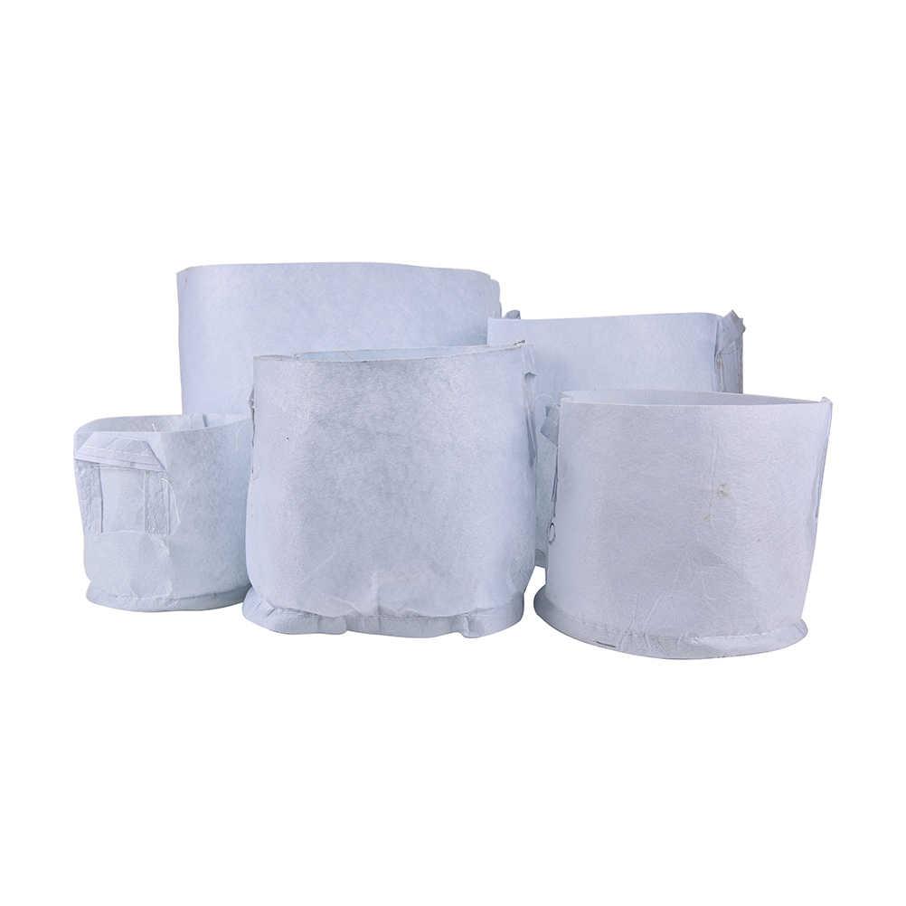 5 ขนาดผ้าเติบโตถุงผ้าสวนอุปกรณ์ Nursery Pots ต้นกล้า