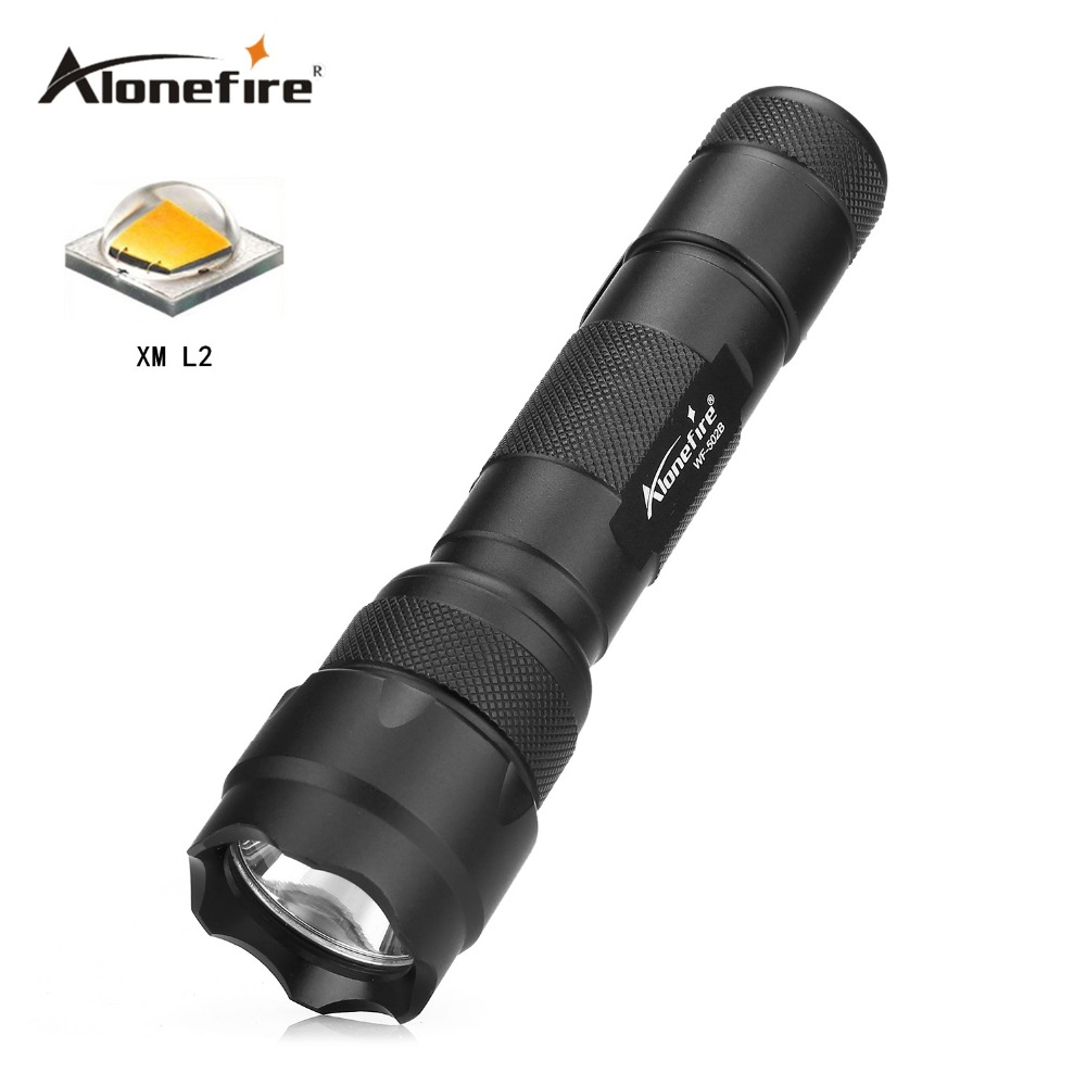 502B led Flashlight CREE XML XML-T6/XM-L2 LED Camping Lamps Tactical Torch 2200 Lumen Lanterna 502b led flashlight cree xml xml t6 xm l2 led camping lamps tactical torch 2200 lumen lanterna page 2
