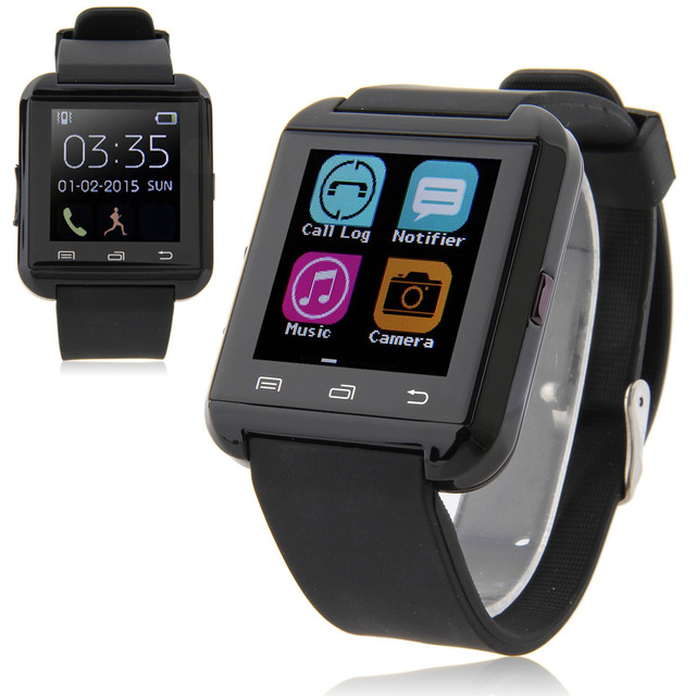 Bluetooth Smartwatch U8 Smart Watch For Samsung S6 Note 4 HTC Android Phone Smartphones Wear