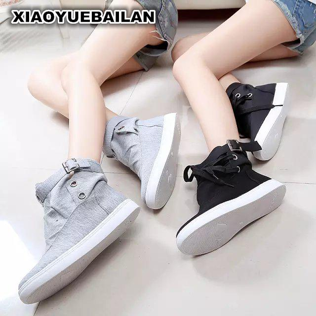 2017 Spring And Autumn Wind High Canvas Shoes To  College Students' Leisure Breathable point systems migration policy and international students flow