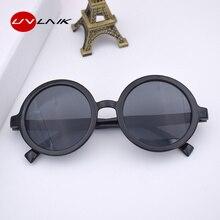 UVLAIK Vintage Round Sunglasses Women Classic Retro Sun Glas