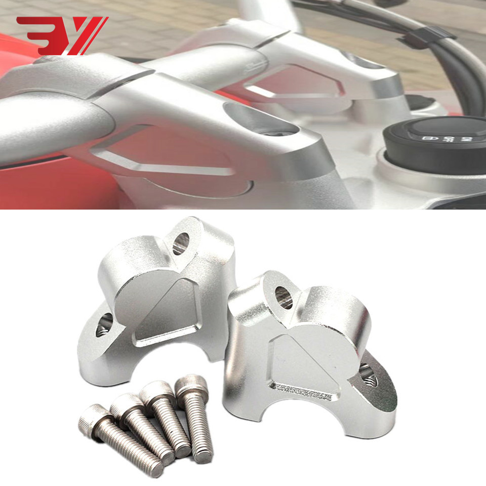 For BMW F800GT 2013-2017 F800GS 2008-2017 F800R 2015-2017 Handle Bar Clamp Raised Extend Handlebar Mount RiserFor BMW F800GT 2013-2017 F800GS 2008-2017 F800R 2015-2017 Handle Bar Clamp Raised Extend Handlebar Mount Riser