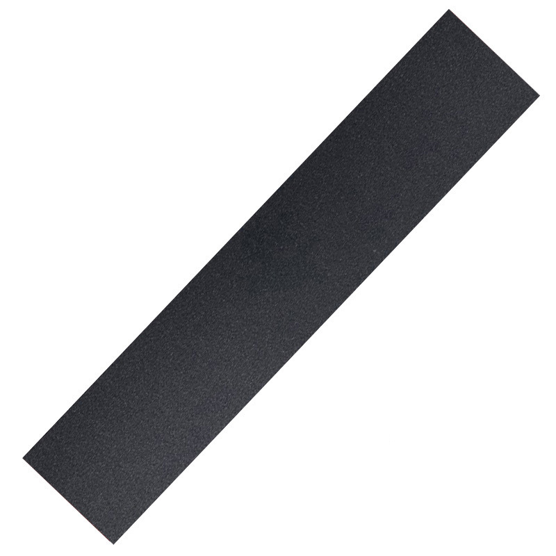 Longboard Sheet Abrasive Paper Grip Tape Anti Slip Design Decoration Strip Black Diamond Silicon Skateboard Durable