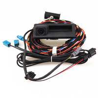 HONGGE RCD 510 RNS 310 RNS315 12V Rear View Reversing Camera + Cable Harness For VW Tiguan 5ND 827 566 C