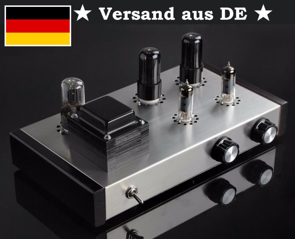 Nobsound Latest Pure Handmade 6J4 Push 6P6P Valve Tube Amplifier Stereo HiFi Class A Tube Pre-Amplifier 2017 nobsound direct manufacturer selling 6j4 6p6p 6z5p tube amplifier pre amplifier tubes diy kits