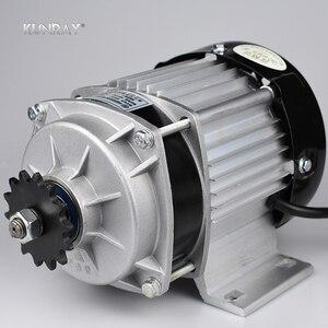 Мотор UNITEMOTOR BM1418ZXF 500 Вт 48 В, бесщеточный двигатель постоянного тока, электрический трицикл, мотор для мотоцикла, двигателя, электромотора, ав...