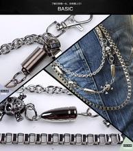 Biker Skull Jeans Wallet Chains