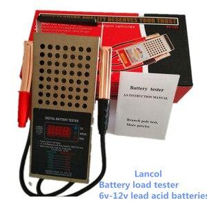 Image 1 - Original Digital car truck motor 125 amp  6/12V battery load tester