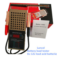 Ursprüngliche Digitale auto lkw motor 125 amp 6/12V batterie last tester