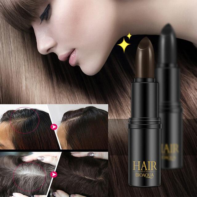 Pluma de Color para el cabello nueva llegada tinte temporal para cubrir lápiz de cera de Color blanco