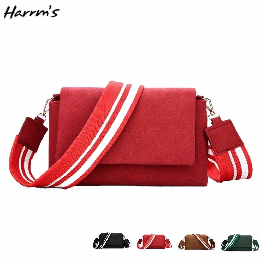 Hot 4 Color New Brand Bag Fashion Women Vintage Nubuck PU Handbag Tassel Shoulder Bag Womens Messenger Bag High Quality Gift