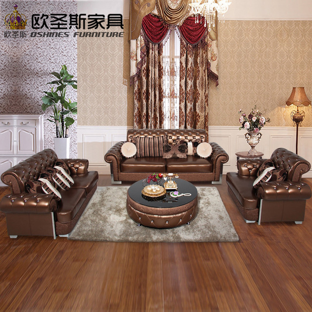 Buy From China Factory Direct Wholesale Valencia Wedding Italian Cheap Leather Pictures Of Sofa Shair Set Designs 112KA