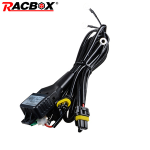 55W 35W HID Bixenon H4 Wiring Harness Controller for Car Auto Headlight Retrofit Connector Mini Projector Lens Line Car Styling