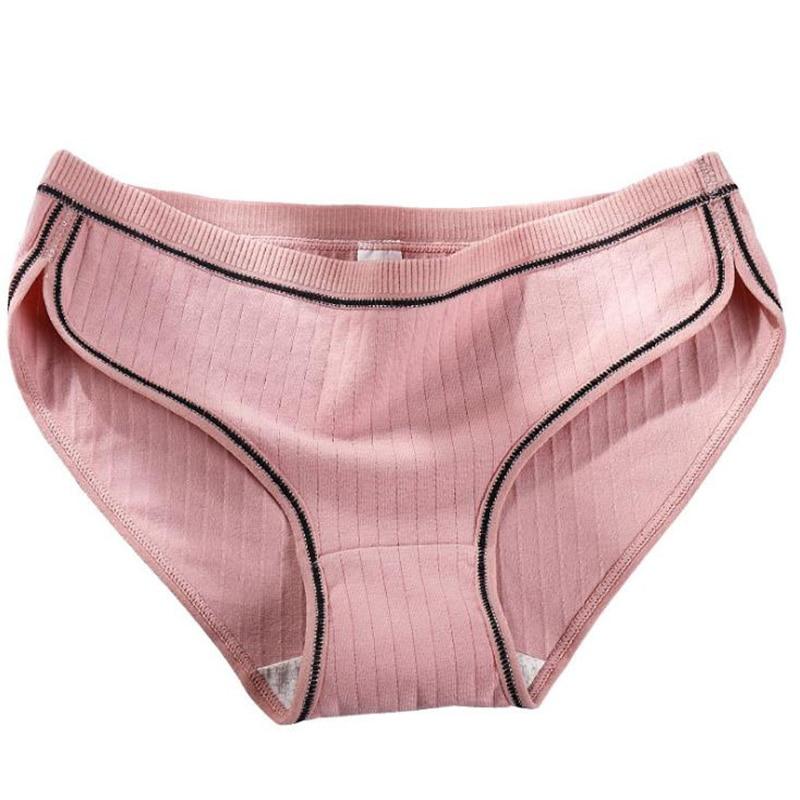 New honeycomb antibacterial cotton underwear women 100% cotton antibacterial thread princess sports briefs women's   panties