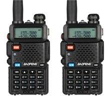 2 шт baofeng uv 5r Переговорная рация двухстороннее радио fm