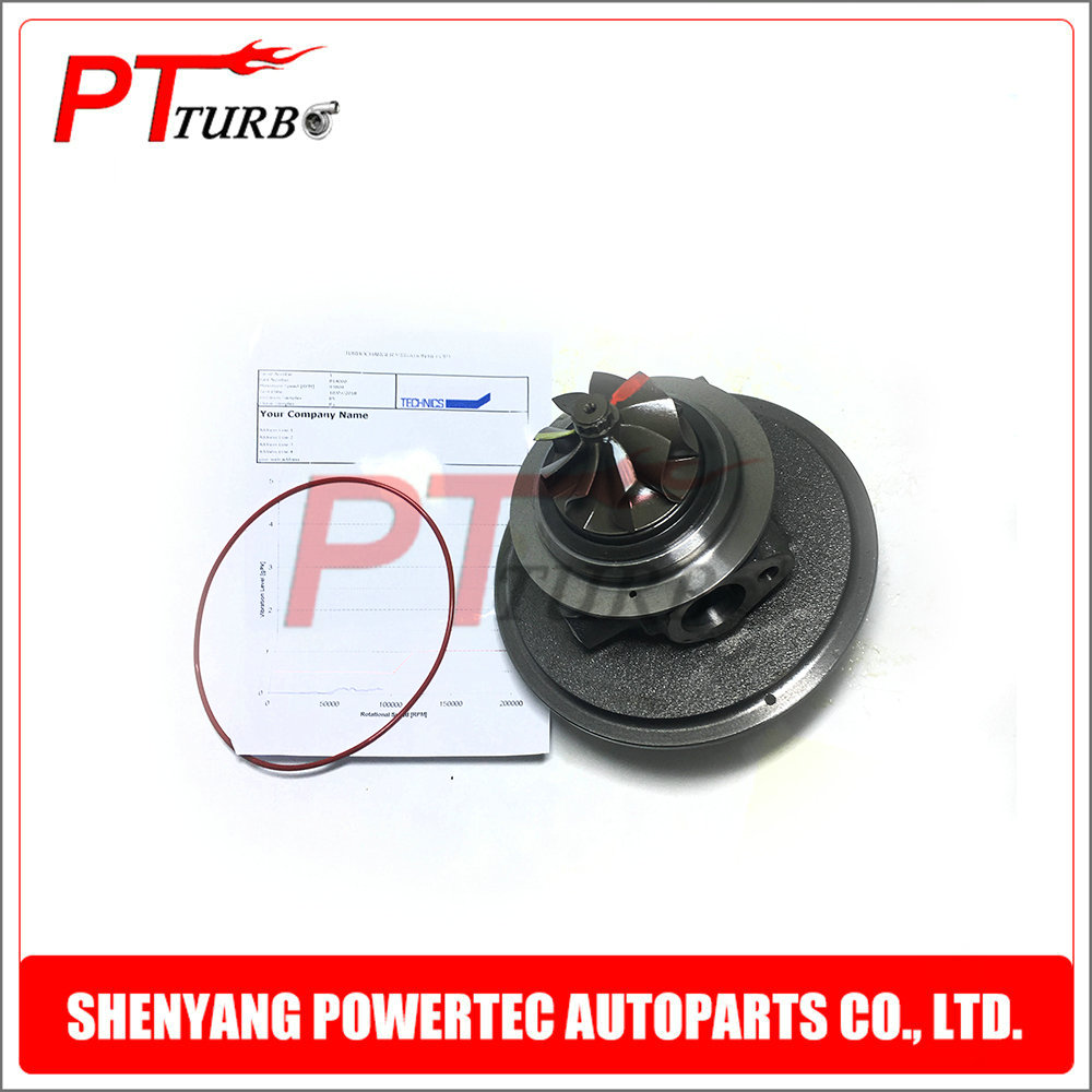 Turbine cartridge CHRA GT1752S turbo core assembly 814000 / 817808 for VW Beetle Jetta Golf VII R GTI 2.0 TFSI EA888 2012-2014