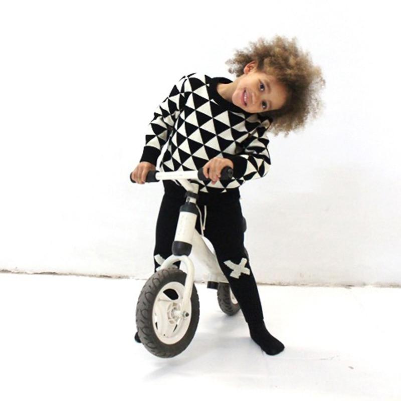 Vinterbarn Pojke Tröja Pojkar Tjej Kläder Stickad Barn Tröja Barnkläder Pullover Baby Boy Tröja