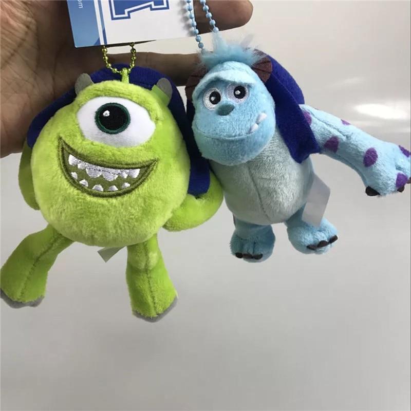 mini 10cm pendant Sullivan Big eye monster plush doll toy Children's toys Home car