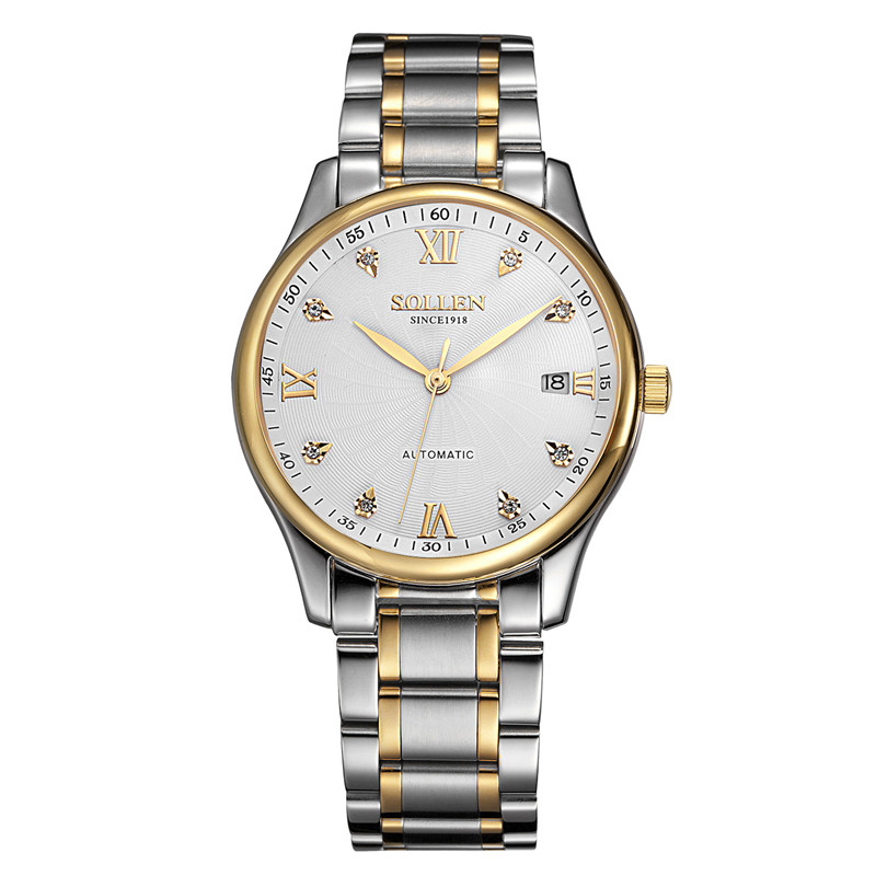 Women watches Brand Luxury Diamond Gold Watch Ladies automatic mechanical Wristwatch Woman Clock Relogio Feminino Relojes Mujer binger genuine gold automatic mechanical watches female form women dress fashion casual brand luxury wristwatch original box
