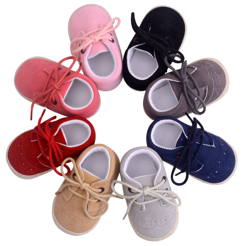 First Walker Baby Shoes Nubuck Leather Moccasins Soft Footwear Shoes For Baby Girls Kids Newborns Boys Sneakers