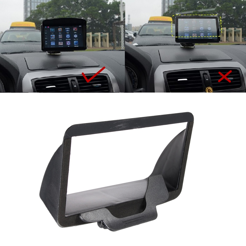 Universal 7 inch Portable Anti Glare Screen Sun Shield Visor Hood For 7 inch Car font