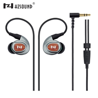 2017 HZSOUND New HZ3ii High Fidelity Professional Quality Stereo Inner Ear Earphones Wood Metal Sports Headphones