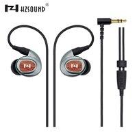 2017 HZSOUND New HZ3ii High Fidelity Professional Quality Stereo Inner Ear Earphones Wood Metal Sports Headphones