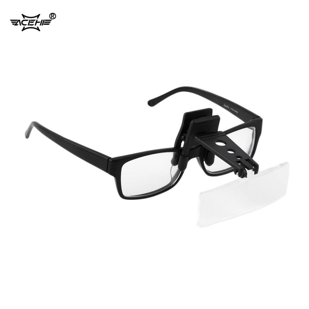 """""""ACEHE"""" akrilo padidinamojo stiklo apkaba, padidinanti akinių - Matavimo prietaisai - Nuotrauka 1"""