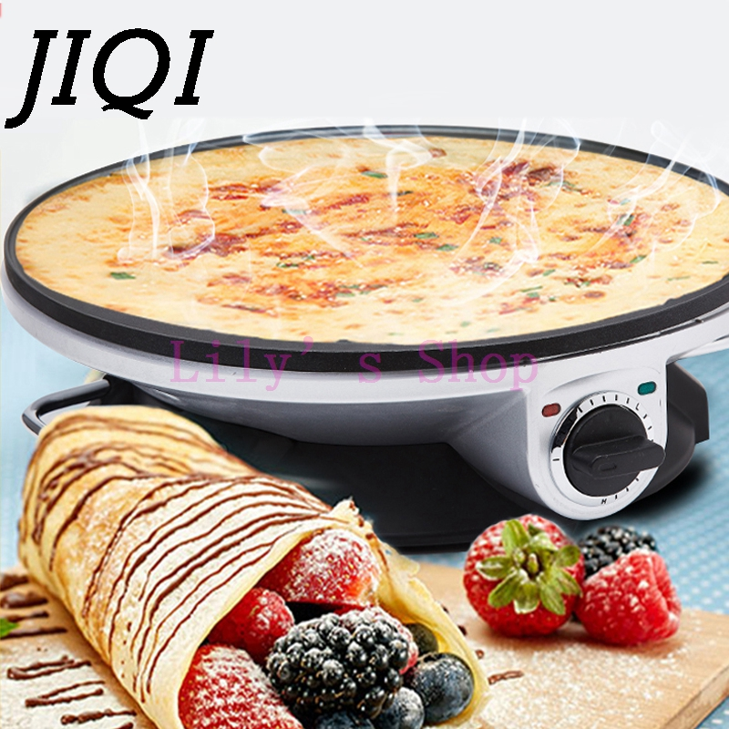 High quality baking pizza pan machine pancake maker home spring roll machine Griddle cooking tool EU US plug 220v 4l air purifier humidifiers touch control hot fog sterilization air humidifiers h 450 for home office 450ml h efficiency