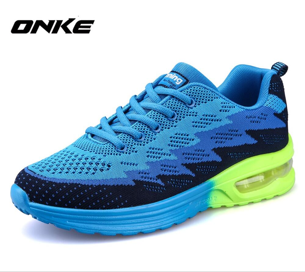 ONKE New listing hot sales summer Mesh breathable Fly line women and men Zoom Air sneakers running shoes sports shoes 806-606